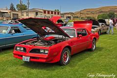 1978 Pontiac Firebird Trans Am (Coop Photography) Tags: show old red classic car june photography washington nikon 26 firebird wa coop pontiac 1978 decal washtucna 78 v8 2010 d90 66l