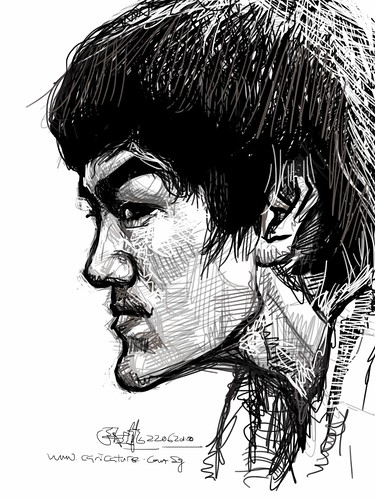 Bruce Lee sketch study