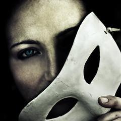 Murnau (Paolo Castronovo) Tags: eye texture girl face canon dark square eyes darkness mask vampire nosferatu blueeyes gothic sigma textures horror terror grotesque murnau sigma2470 canon450d