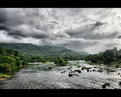 God's own country (EXPLORE - 8th July 2010) (arunsankarphotography) Tags: sky green clouds canon river kerala dp 1855 hdr tpc godsowncountry athirappilly chalakkudy eos550d memoriesofsolitude arunsankar