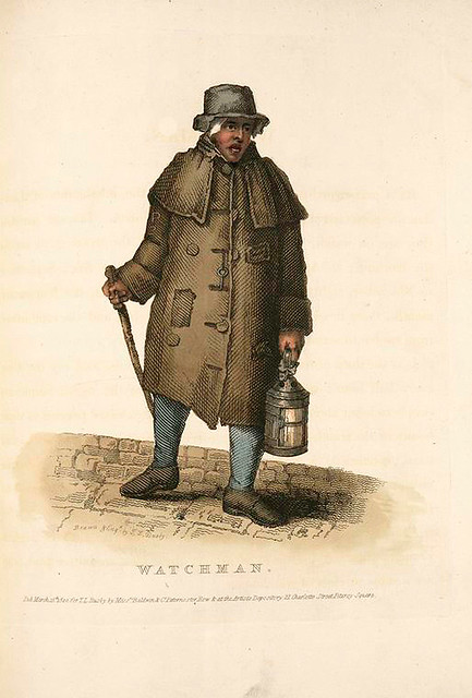 004-Sereno-Costume of the lower orders of London 1820- Lord  Thomas Busby