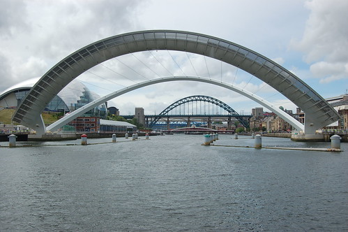 Gateshead Millennium Bridge open Jul 10 3. This is the Gateshead Millennium ...