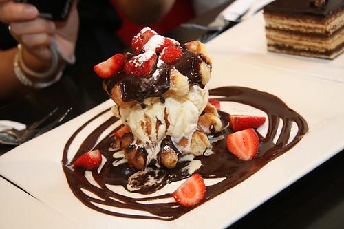 The Chocolate Room's Waffle Wonder