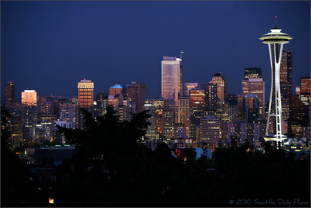 July 7, 2010 Seattle Skyline