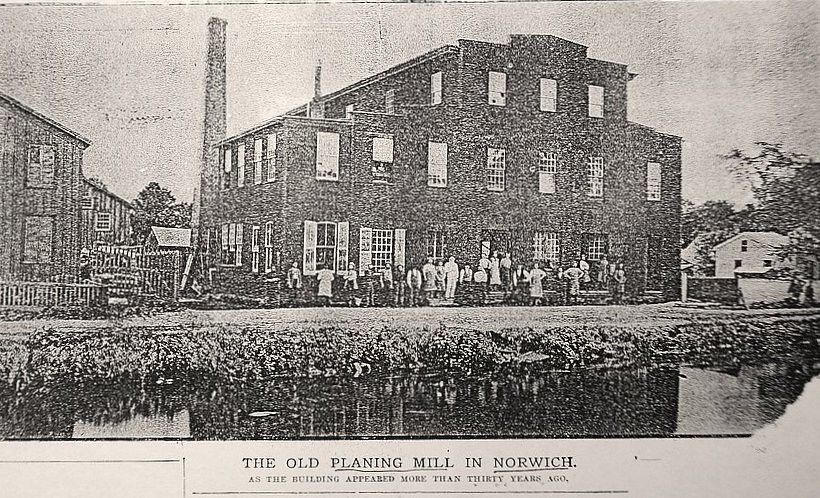 Sternberg Woodworking Factory, Norwich, New York
