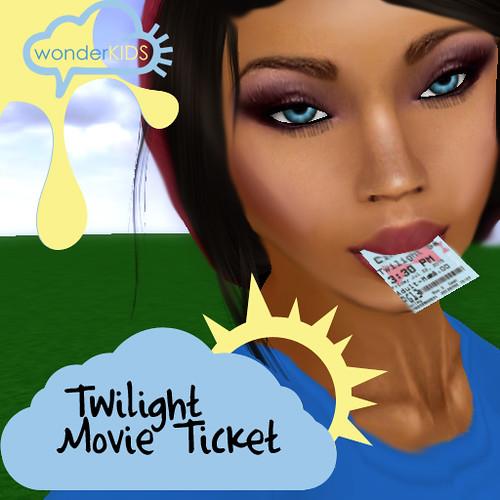 <(wonderkids)! twilight movie ticket