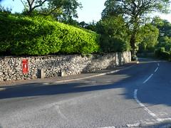 LA7 230 - Milnthorpe, Ackenthwaite [east end] 100620 (maljoe) Tags: postbox royalmail la7 gvir