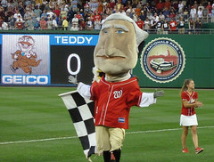 Washington Nationals racing president George Washington