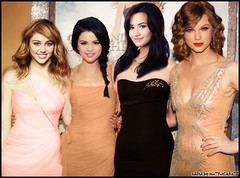 sex and the city manip (**funChika**) Tags: sexandthecity manip taylorswift mileycyrus selenagomez demilovato funchika
