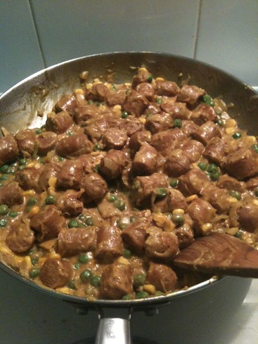 Recipes for curried sausages