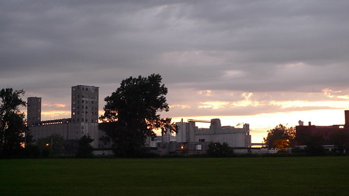 South Buffalo at Sunset
