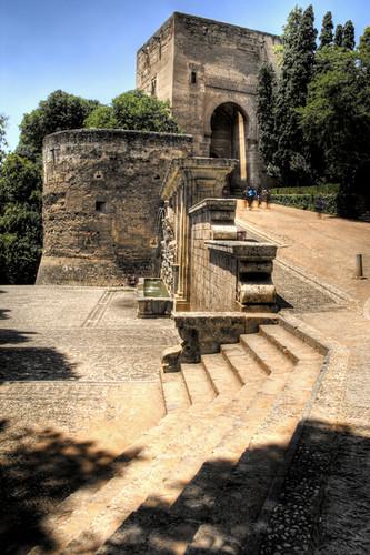 The wine gate. Alhambra. Granada. La puerta del vino