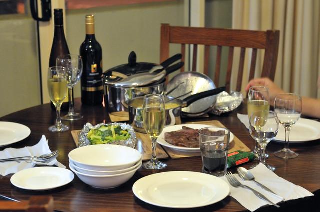 """Dinner in """"Shoal Bay Resort & Spa"""""""