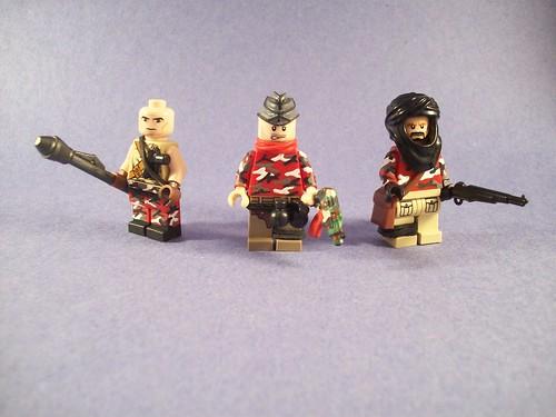 Urban Guirella Soldiers custom minfigures