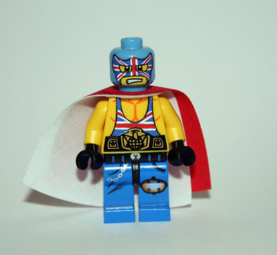 Luchador: British Bulldog custom minifig