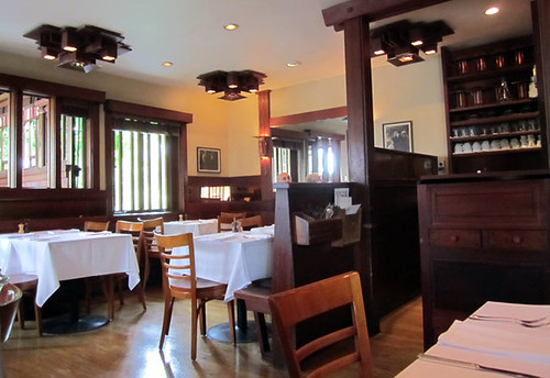 Interior of Chez Panisse