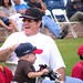 Pete Rose & Verne Troyer at Steve Garvey's Softball Classic 2010