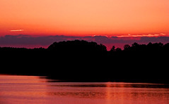 time stand still (bdaryle) Tags: sunset nature water silhouette clouds reflections atardecer sony violet nubes timestandstill brandondaryle bdaryle imagesbybrandon