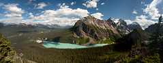 The View from a Beehive (Ar'alani) Tags: lake canada rockies nationalpark canadian glacier banff lakelouise engaged littlebeehive bigbeehive