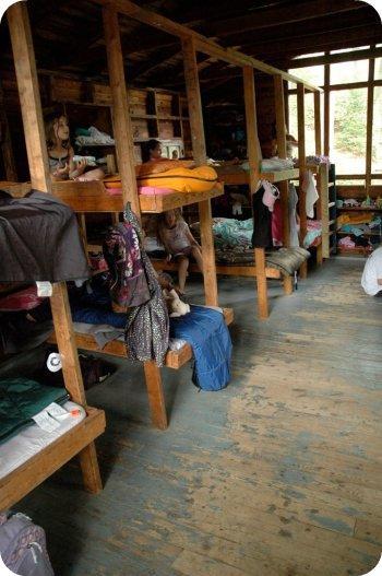 Camp Wabikon: camper cabins