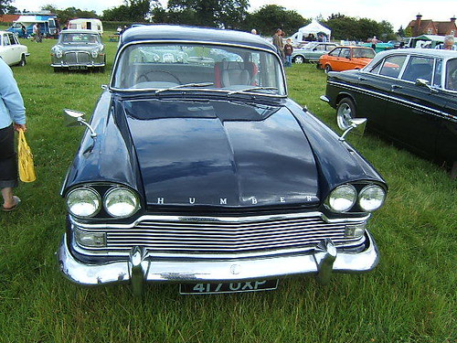 SEPTEMBER 1962 HUMBER SUPER SNIPE 2965cc 417UXP