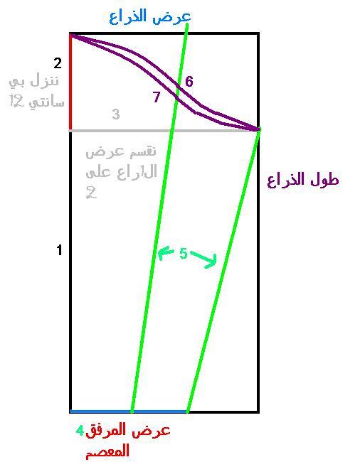 رسم باترون الكم الحريمي 4787331166_fc8f6cfaa5_b