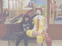 McDonalds (Shaya Shania Mona Mokarremi) Tags: friends cute kid hug friend donald best mcdonald bff my
