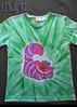 Gato -verde (Dado Art - Aerografias) Tags: arte artesanato tshirt airbrush camisetas aerografia customização pinturaemtecido gatodecheshire gatodaalice