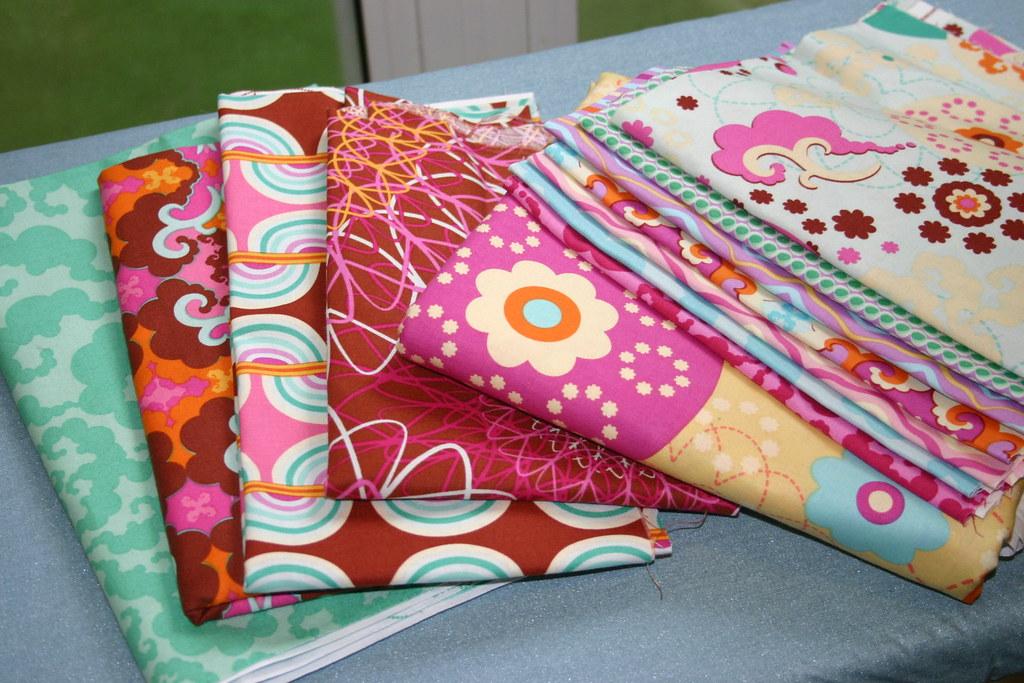 Sugar Snap fabrics