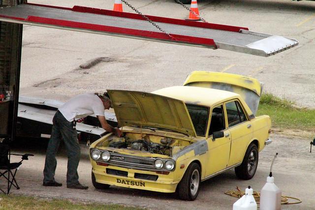 viejo antiguo Bumblebee Datsun Transformers 3