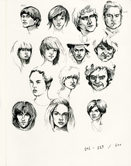 106-119/500 (fake glue) Tags: moleskine drawings isograph iseeidraw 500faces