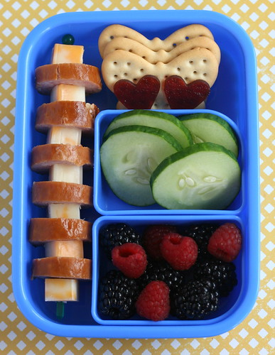 summery snack bento!
