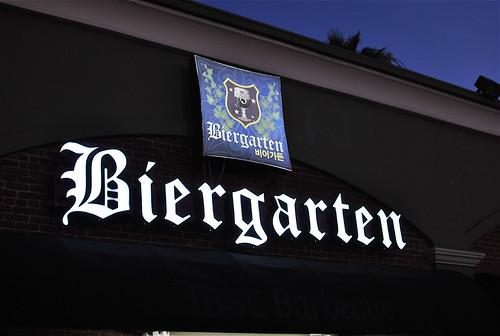 Bier Gartens Signage
