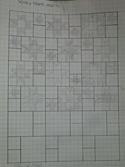 1930 wonky stars plan