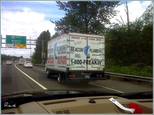 Beacon Plumbing Truck