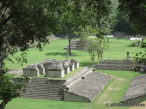Overview of the Copan Ruinas in Honduras