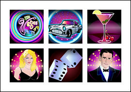 free Vegas Party slot game symbols