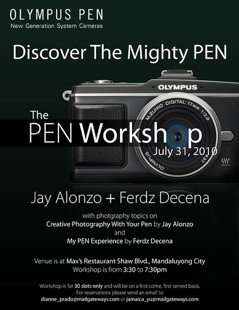Olympus the PEN Workshop