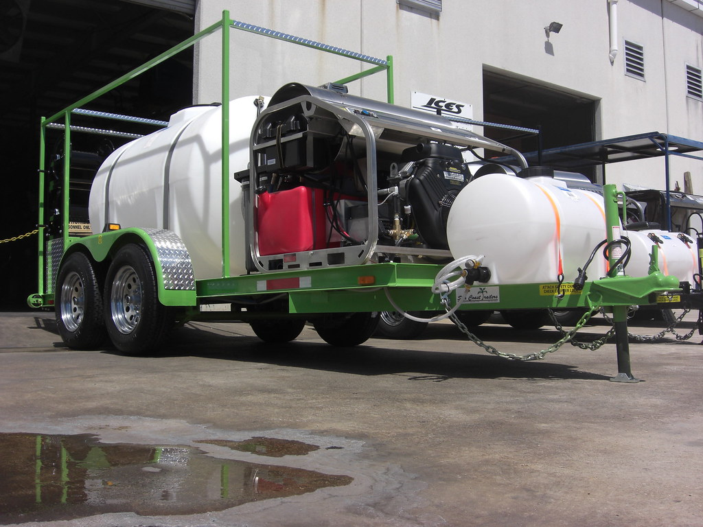 Hot water pressure cleaning systems sold by Dan Swede