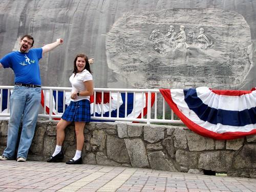 Hooray for Stone Mountain!