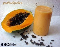 SSC54- papaya smoothie