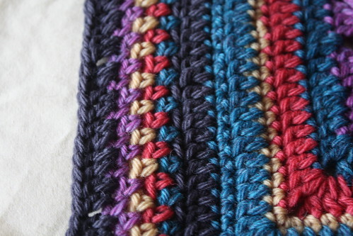 Crocheted edging