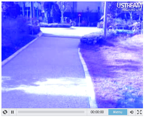 ustream from bicycle