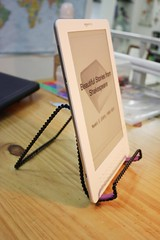 kindle side view stand