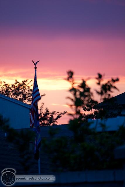 Backyard Sunset 71510 © Michael Klayman-010