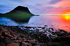 Midnight sun at Grundarfjrur, Snfellsnes (@PAkDocK / www.pakdock.com) Tags: ocean trip travel blue light sunset sea summer panorama naturaleza sun mountain lake black art tourism ice luz beach nature water rock composition sunrise landscape geotagged outdoors island photography moving iceland islandia rainbow dock sand agua nikon scenery exposure mood view dynamic tide country north wave paisaje running arctic arena explore shore midnight iceberg geology gps minimalism cinematic paysage frontpage negra breathtaking sland midnightsun pak snfellsnes icelandic volcan grundarfjrur magiclight d90 medianoche grundarfiri grundarfjoerdur pakdock