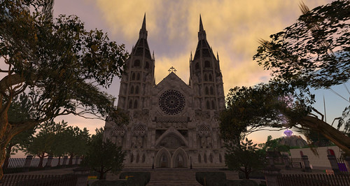 One of the Great Builds at RFL 2010: St. Illuminatius Cathedral by Abel Dreamscape - photograph by PJ Trenton