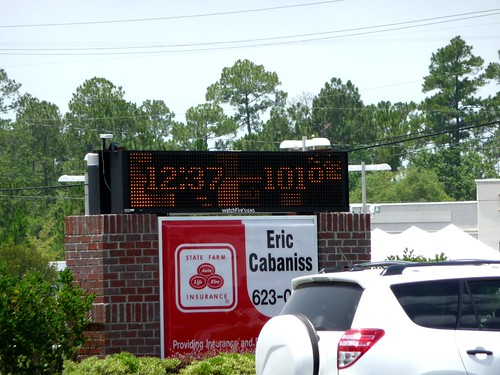 Hot Day in Milton, FL