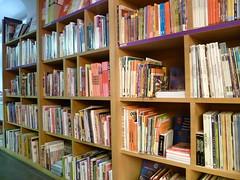 Livros na lojinha do museu