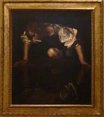 Caravaggio, Narcissus, c. 1597-99
